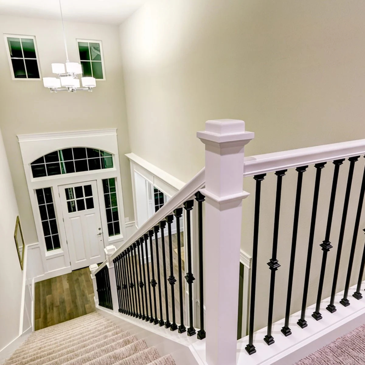 10 Ways To Freshen Up Outdated Banisters Family Handyman | Iron Railing With Wood Handrail | Stair Systems | Stair Parts | Metal | Stair | Staircase