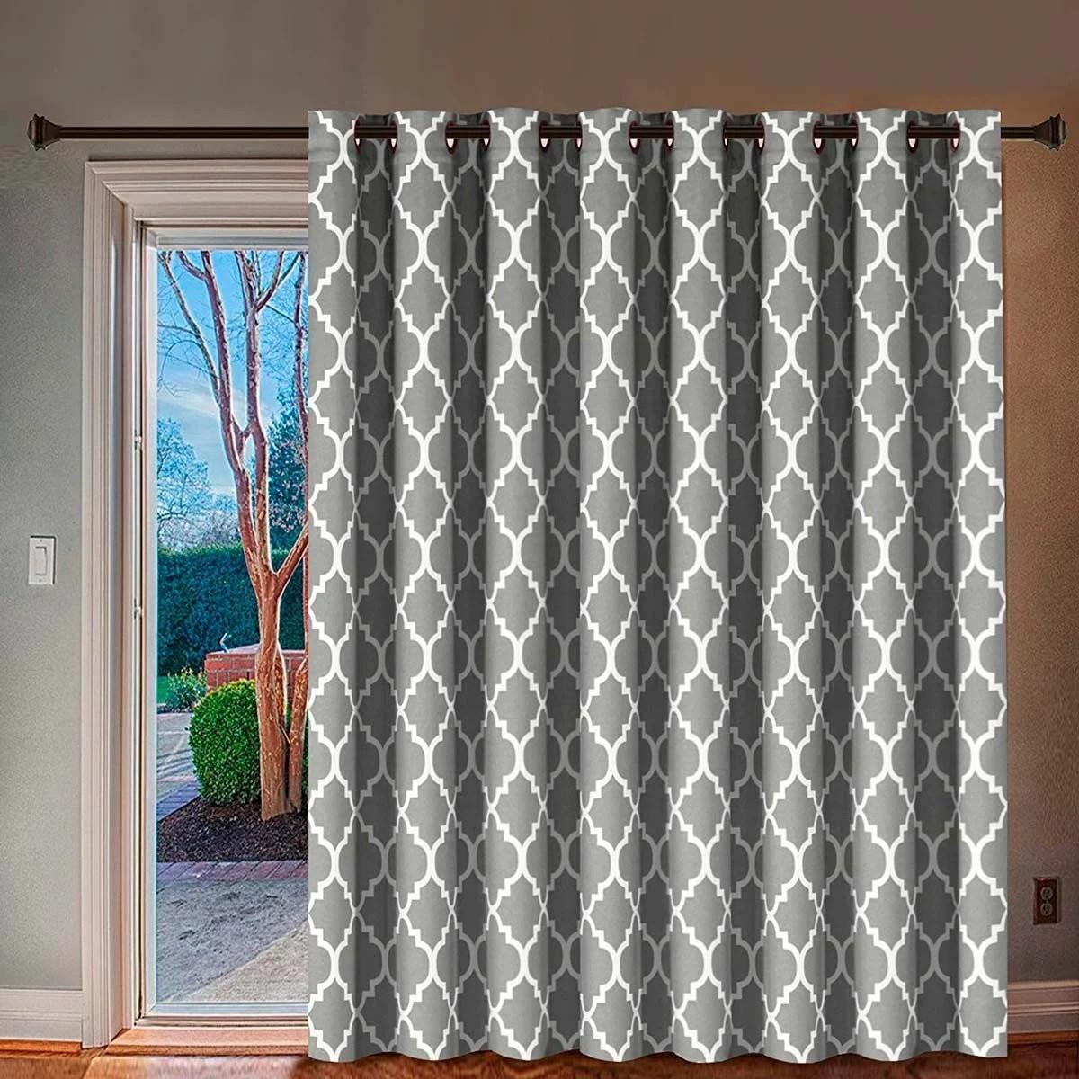 patio door curtain ideas for different