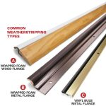 How To Weather Strip A Door Install In 13 Steps With Pictures Diy Family Handyman