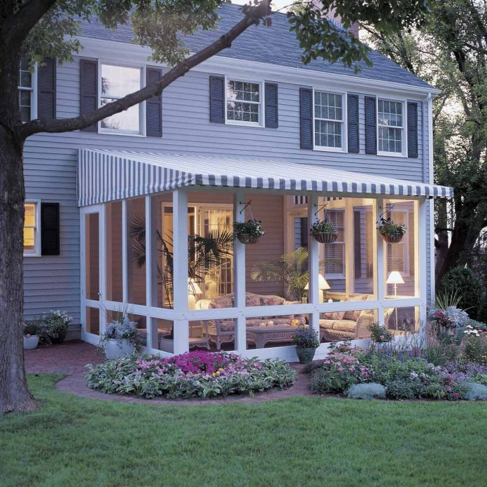 How To Build A Screened In Patio Diy Family Handyman