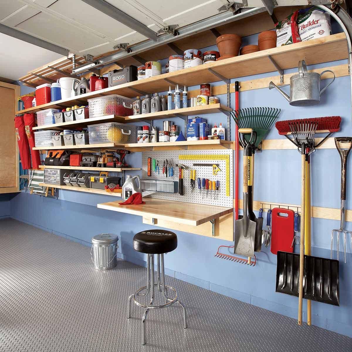 51 Brilliant Ways to Organize Your Garage   The Family ... on Organized Garage  id=93756