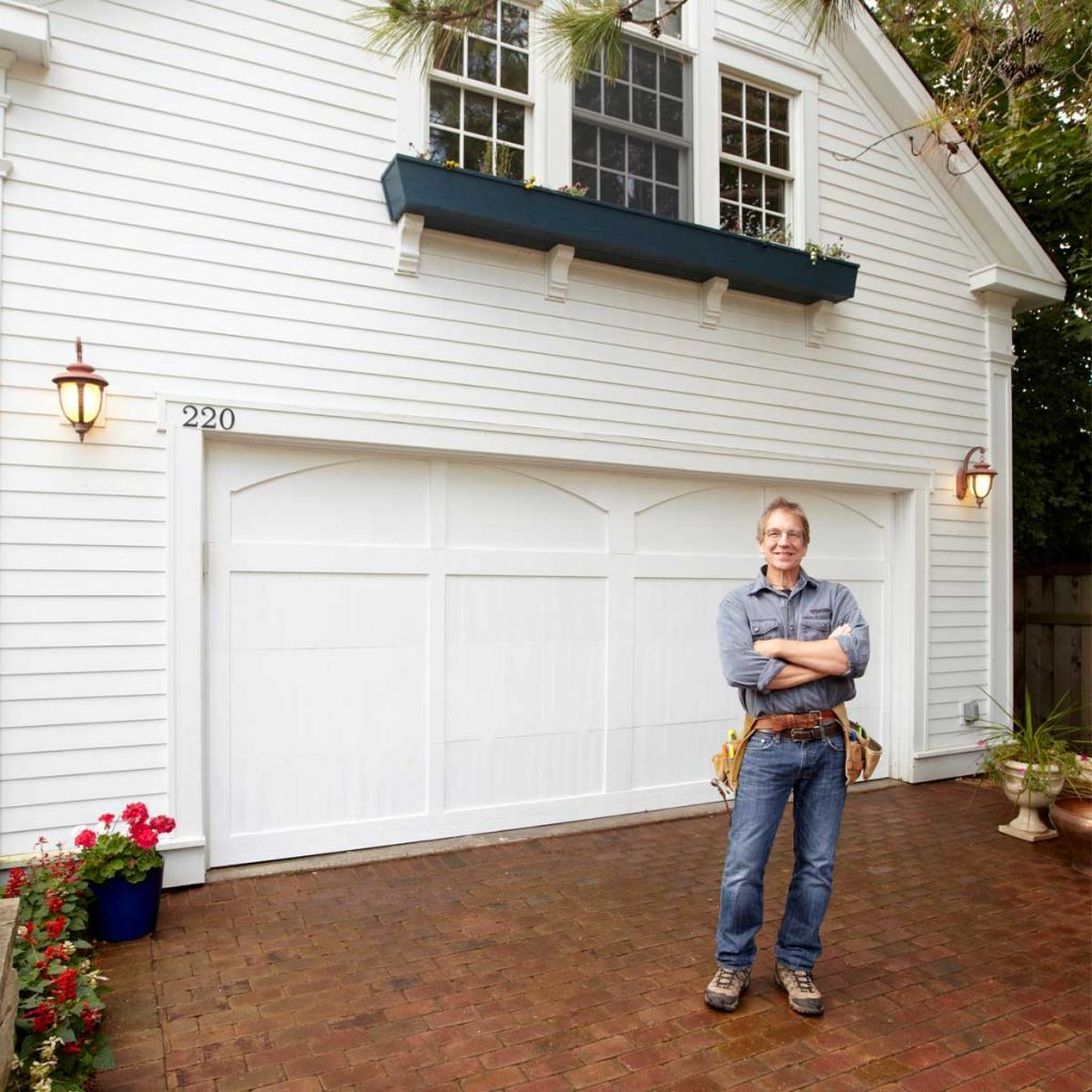 8 Garage Paint Ideas to Consider Inside and Out   The ... on Garage Door Paint Ideas  id=70533