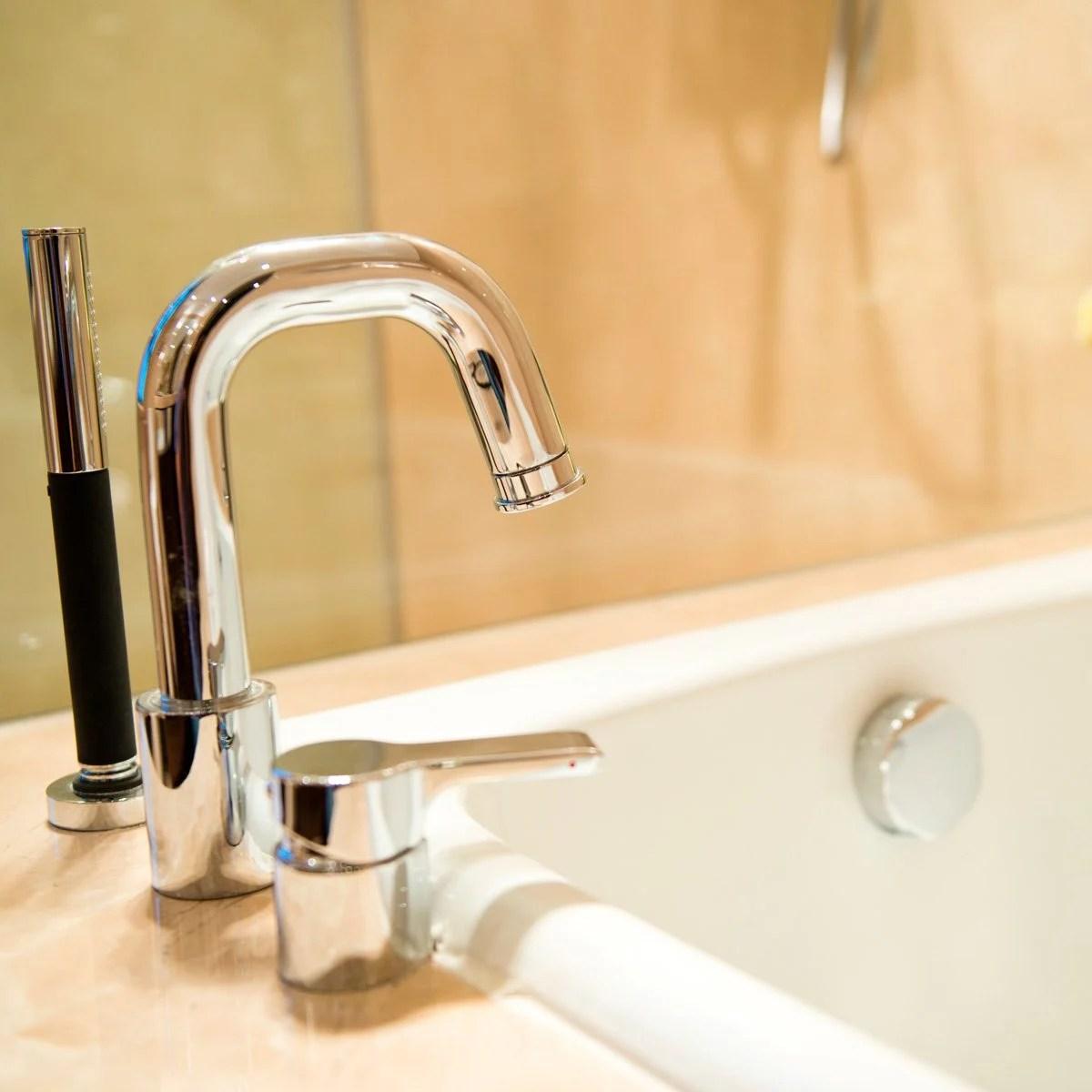how to clean bathroom chrome family