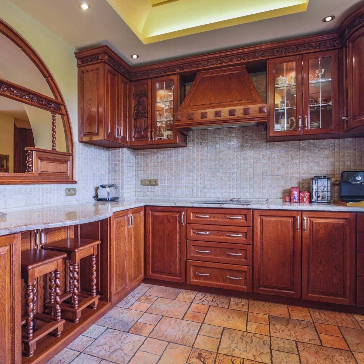 Best Kitchen Backsplash Ideas For Dark Cabinets | Family ... on Backsplash Ideas For Dark Cabinets And Light Countertops  id=63218