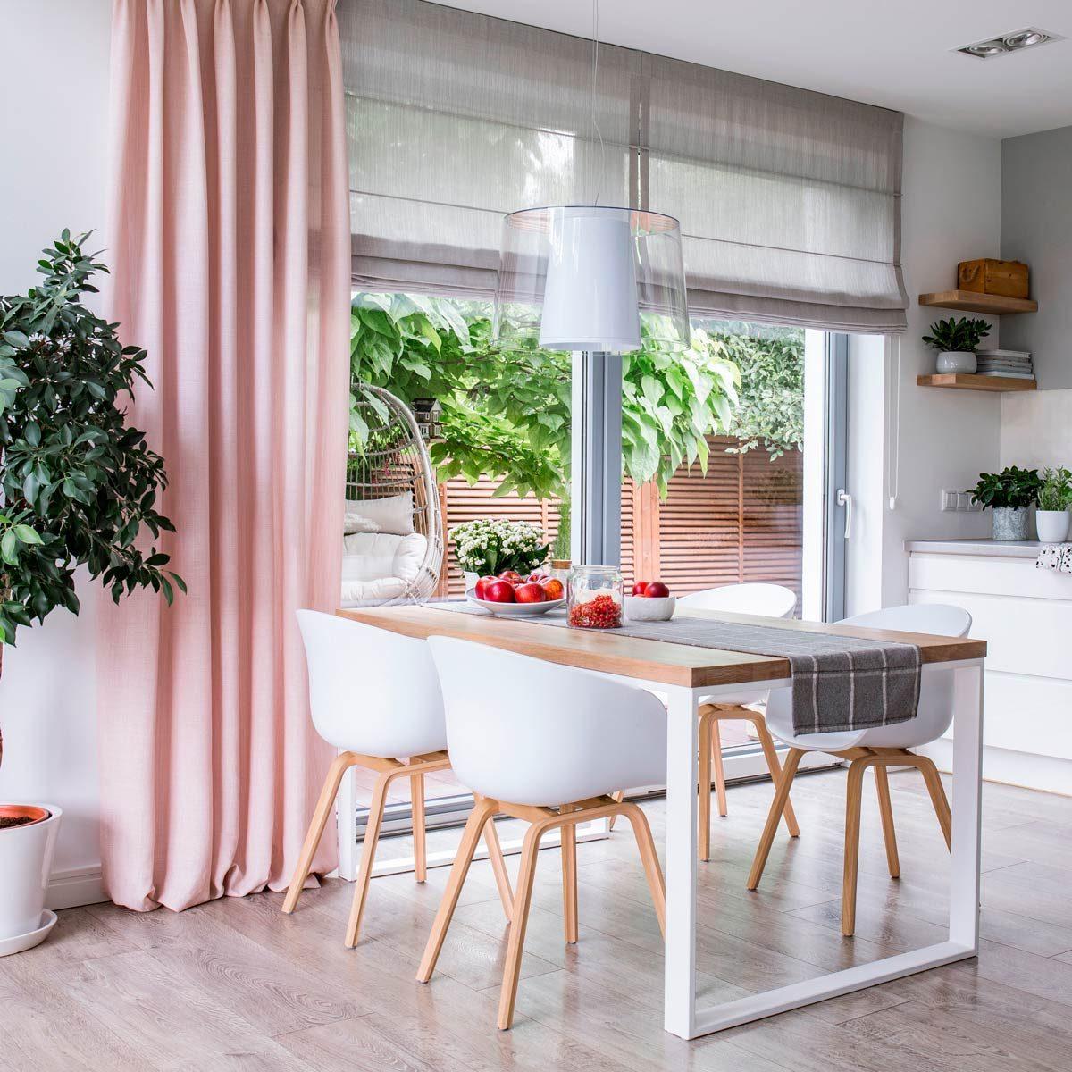 Stylish Dining Room Curtain Ideas | Family Handyman on Dining Room Curtain Ideas  id=18283