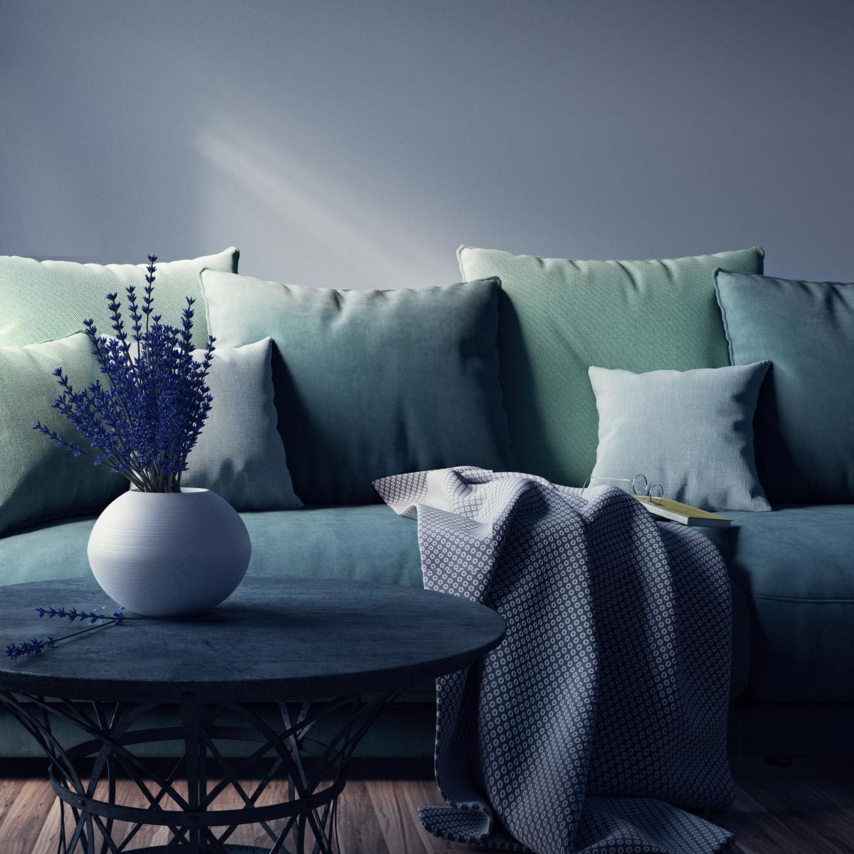 ways to arrange pillows on a couch