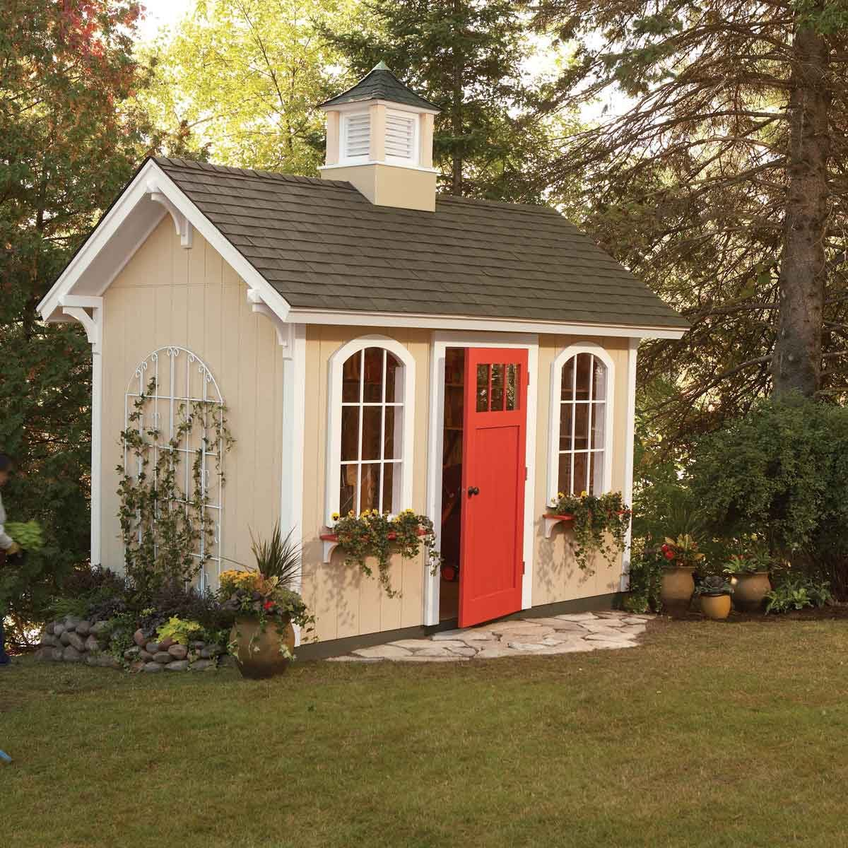 How To Build A Shed On The Cheap Diy The Family Handyman