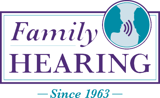 Family Hearing Center logo- Color