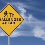 challenge road sign