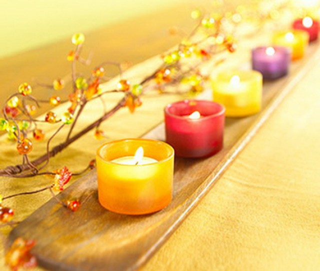 Exquisite Candles For Elegant Thanksgiving Holiday_