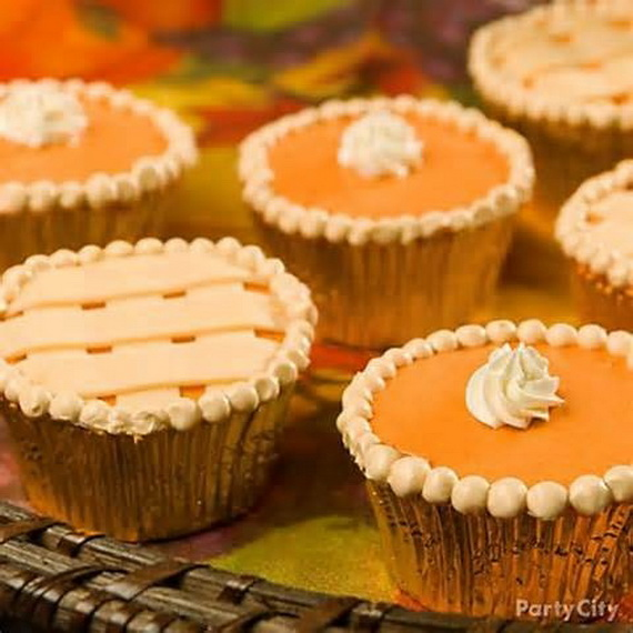 Thanksgiving Cupcake Ideas For Holidays Family Holiday