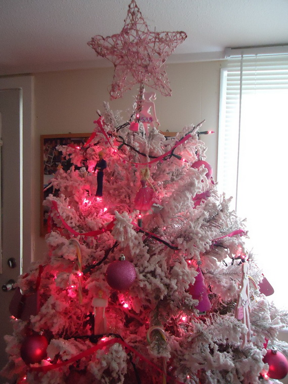 A Holiday Barbie Themed Christmas Tree Family Holiday