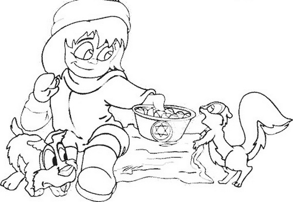 rosh hashanah coloring pages for kids  family holiday