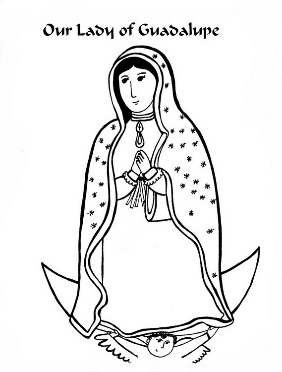 Catholic Saints And All Saints Day Coloring Pages