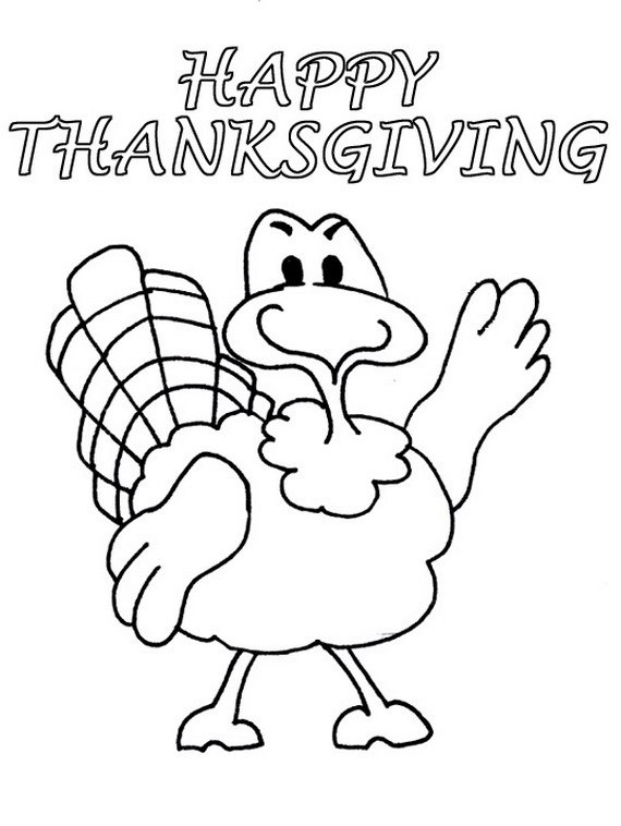 free coloring pages thanksgiving # 28
