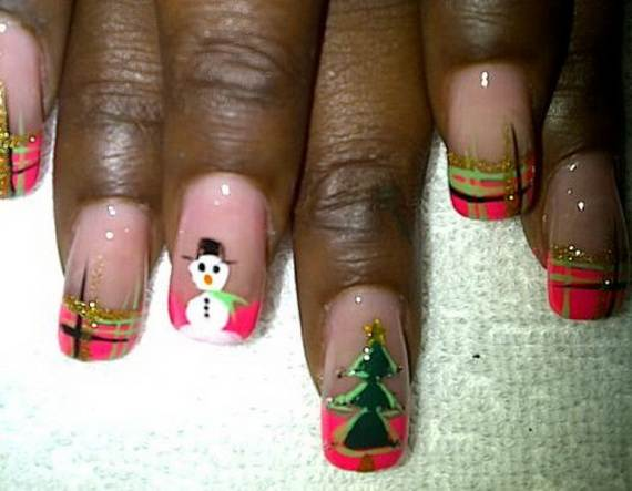 Best Easy Simple Christmas Nail Art Designs Ideas 13