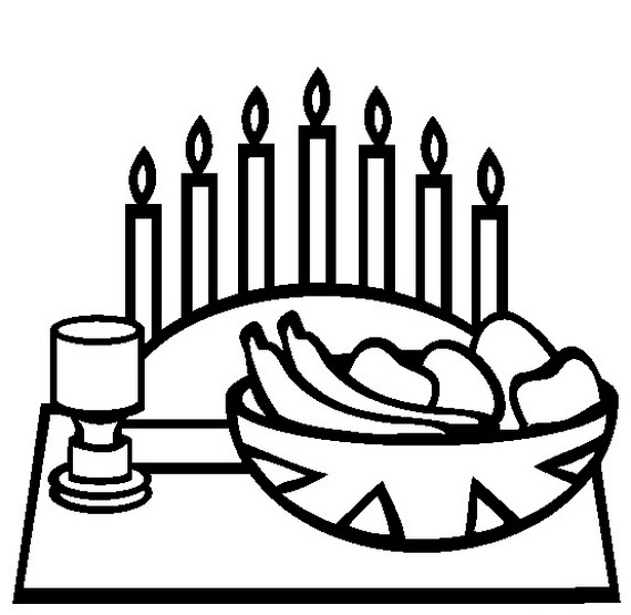 December Holiday Kwanzaa Coloring Pages Family Holiday Net Guide To Family Holidays On The Internet