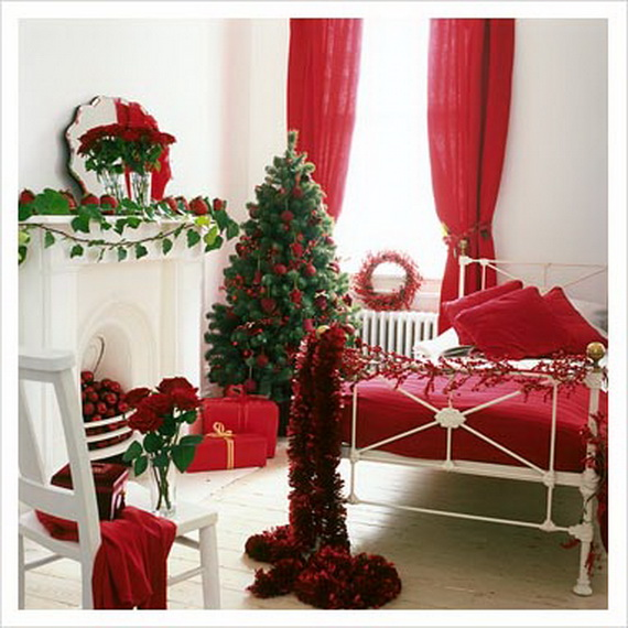 Ideas to decorate your bedroom for christmas for Ideas to decorate your bedroom for christmas