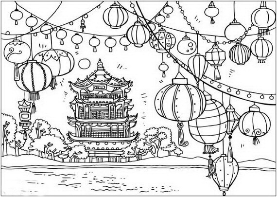 china coloring pages # 23