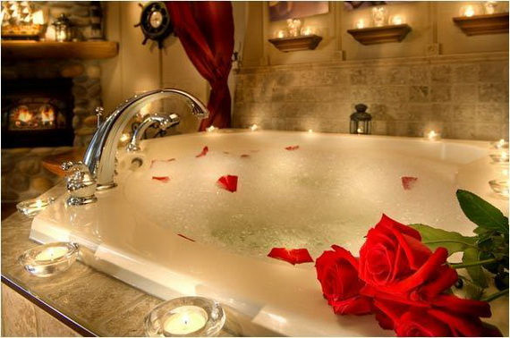 Great Sexy Valentines Day Bathroom Decorating Ideas