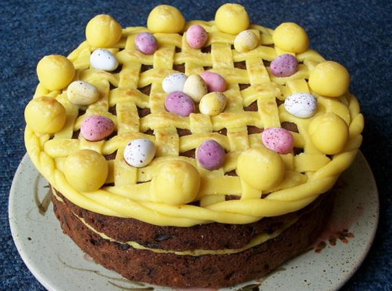Easter Cakes Simnel