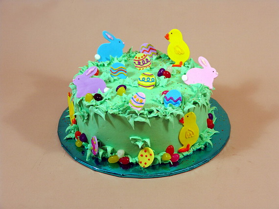Easy Cake Decorating Ideas Easter