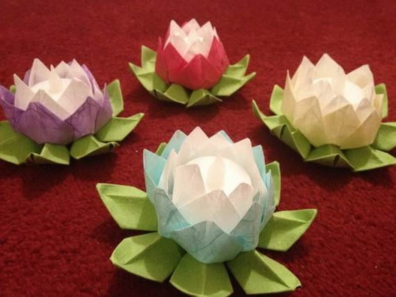 DIY Paper Lotus Lanterns For Buddhas Birthday Family