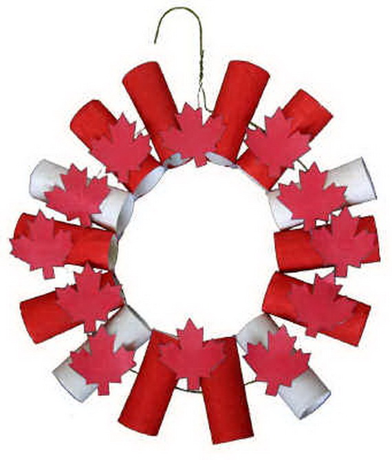 Canada Day Red And White Craft Ideas Family