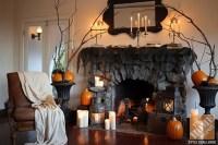 images of indoor halloween decorations