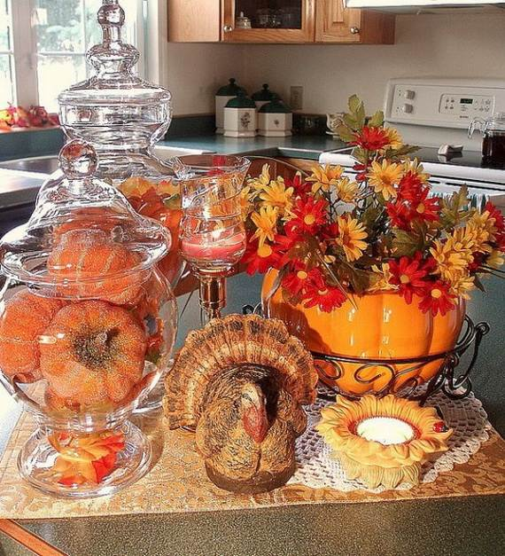 35 Beautiful And Cozy Fall Kitchen Decor Ideas Family