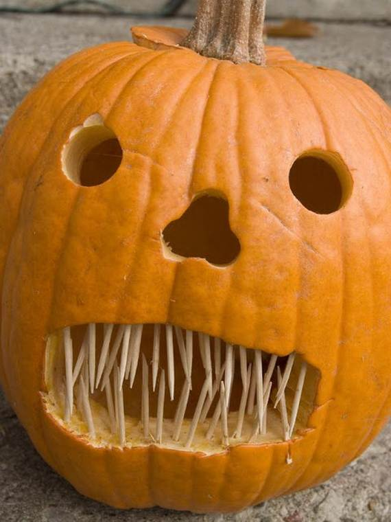 Cool Easy Pumpkin Carving Ideas _22