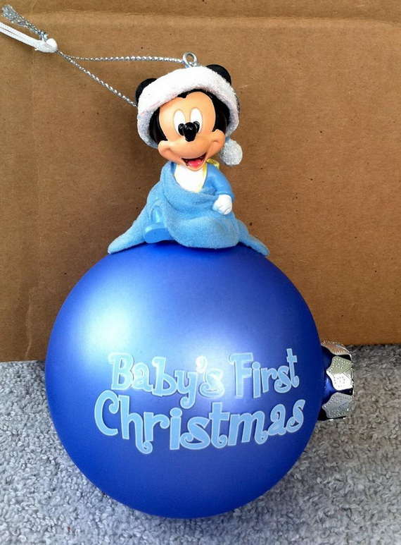 Baby S First Christmas Ornament Ideas Family Holiday Net