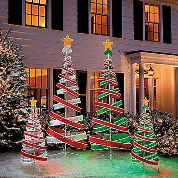 60 Trendy Outdoor Christmas Decorations Family Holiday Net Guide To Family Holidays On The Internet
