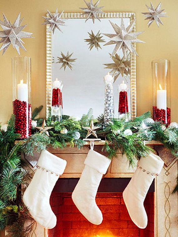 Decorating Fireplace Mantels For The Holidays