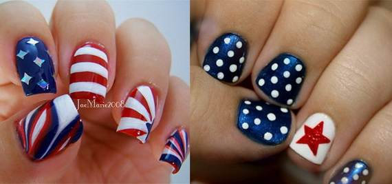 Amazing Patriotic Nail Art Designs Ideas 03