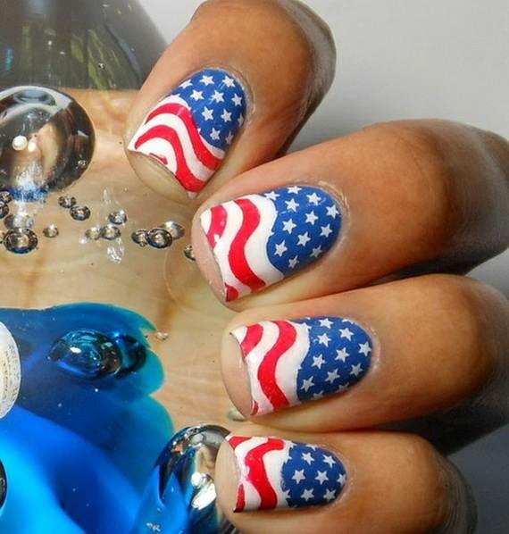 Amazing Patriotic Nail Art Designs Ideas 10