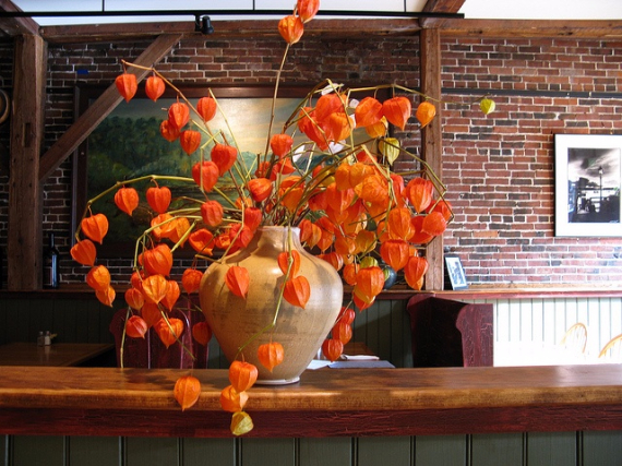 25 Cool Orange Fall  Thanksgiving Decorating Ideas with Chinese     Cool Orange Fall  Thanksgiving Decorating Ideas with Chinese Lanterns