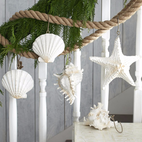 Christmas Dcor Ideas And Tree Ornaments With A Coastal