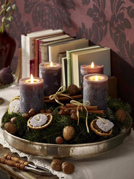 35 Creative Christmas Decoration DIY Advent Wreath Ideas