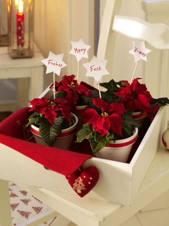 45 DIY Christmas Table Settingamp Centerpieces Ideas Family Guide To Family Holidays