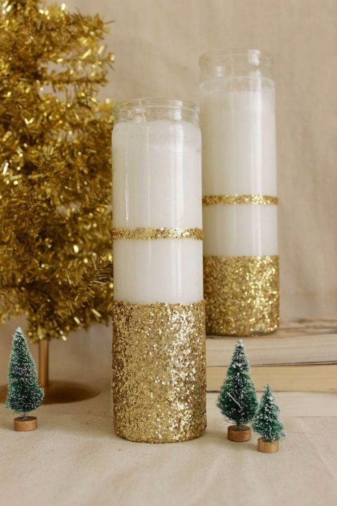 27 Amazing Handmade Candle Decoration DIY Ideas Family