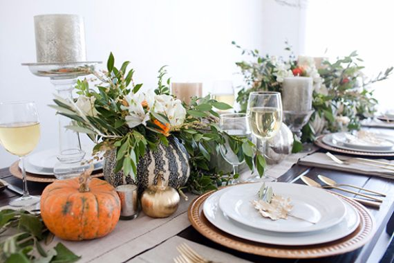 Formal Dining Table Decorating Ideas