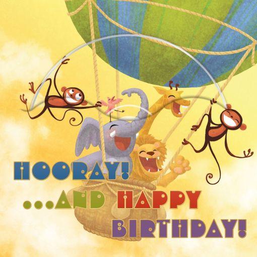 Hot Air Balloon (Be So Happy)
