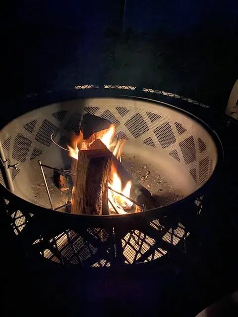 Bali Outdoors Wood Burning Fire Pit Review Gather Around The Campfire At Home Family Kamping
