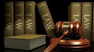 Family Law Law Books and Gavel
