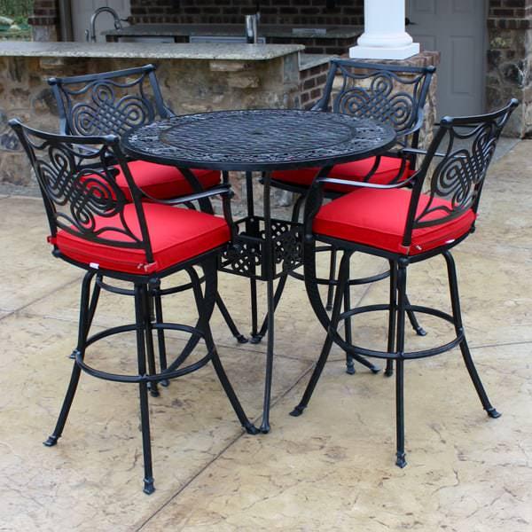 bar height patio table set Salina Bar Height