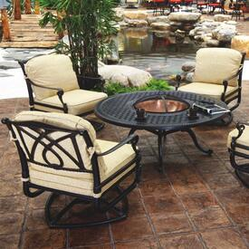 Fire Pit Sets Patio Furniture Family Leisure