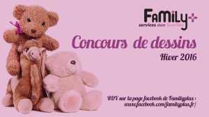 concours facebook dessins family plus