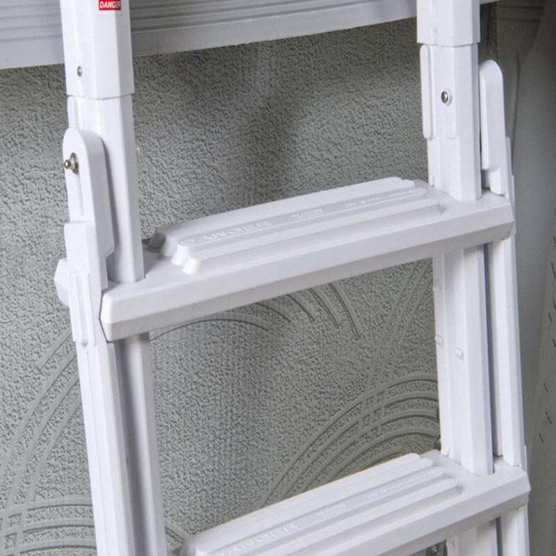 A Frame Flip Up Ladder For Above Ground Pools