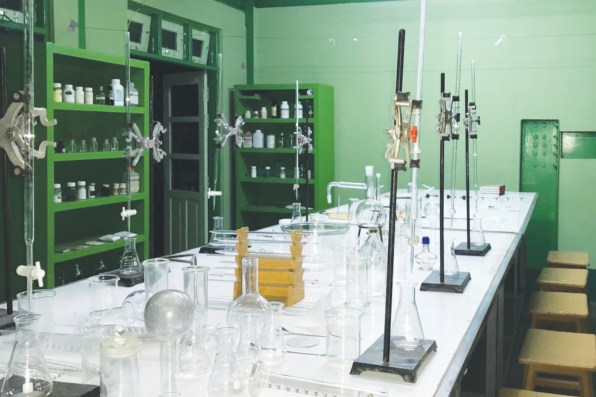 14 (chemistry lab room)